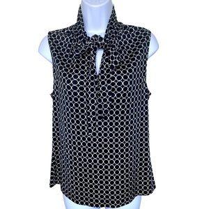 Banana Republic silk sleeveless blouse